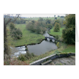 River Wye at Haddon Hall Greeting Card
