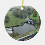 River Wye at Haddon Hall Ornament