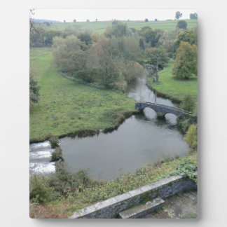 River Wye at Haddon Hall Display Plaques