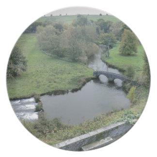 River Wye at Haddon Hall Dinner Plates