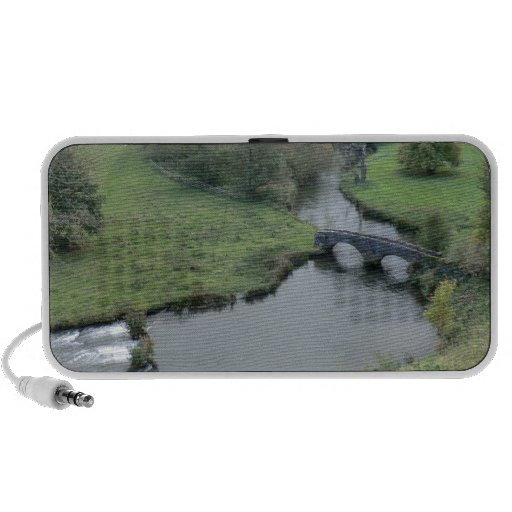 River Wye at Haddon Hall Portable Speaker