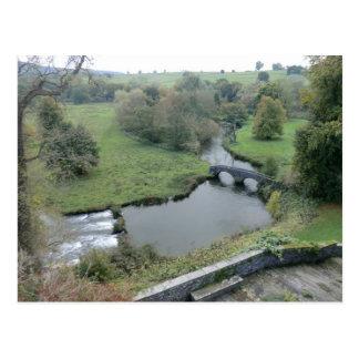 River Wye at Haddon Hall Postcard