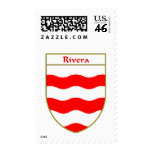Rivera Coat of Arms/Family Crest Stamps