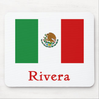 Rivera Mexican Flag Mouse Pad