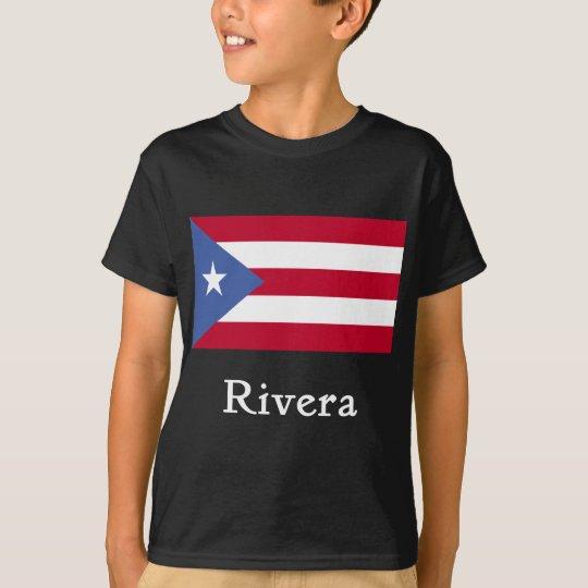 Rivera Puerto Rican Flag T-Shirt