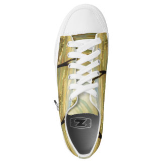 """Rivera's """"Avila Morning"""" art shoes"""
