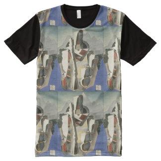 "Rivera's ""Zapata-style Landscape"" art t-shirt"