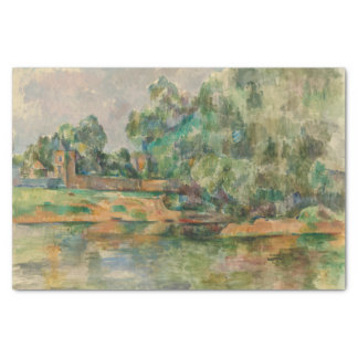 """Riverbank by Cezanne Tissue Paper 10"""" X 15"""" Tissue Paper"""