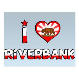 Riverbank, CA Tarjeta Postal