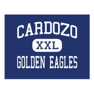 Riverbank del centro de Cardozo Eagles de oro Postales