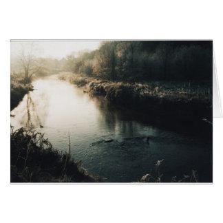 Riverbank Tarjeta De Felicitación
