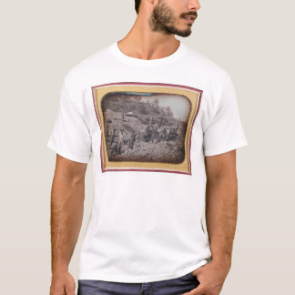 Riverbed mining scene...  (40069) T-Shirt
