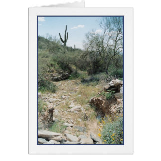 Riverbed Remembrance Greeting Card