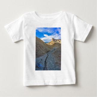 Riverbed view of Zabriskie Point Baby T-Shirt