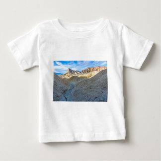 Riverbed view of Zabriskie Point Landscape Format Baby T-Shirt