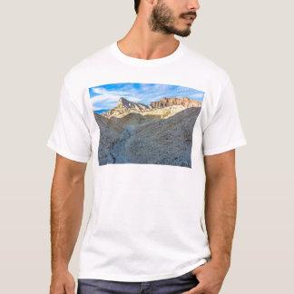 Riverbed view of Zabriskie Point Landscape Format T-Shirt
