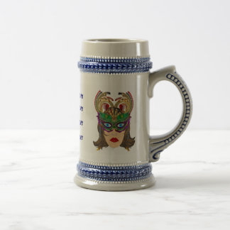 Riverboat Casino Queen Please View Artist Comments Beer Stein