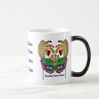 Riverboat Casino Queen Please View Artist Comments Magic Mug