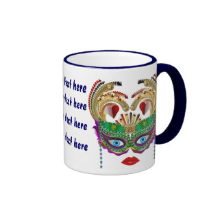 Riverboat Casino Queen Please View Artist Comments Ringer Mug