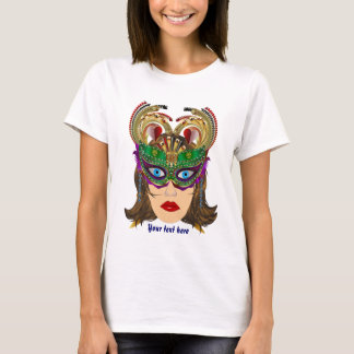 Riverboat Casino Queen Please View Artist Comments T-Shirt