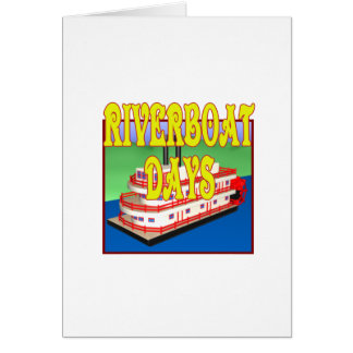 Riverboat Days Card