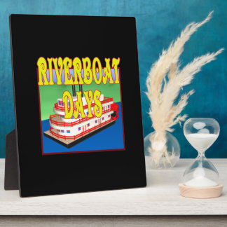 Riverboat Days Display Plaques