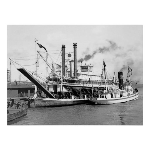 Riverboat Imperial Poster
