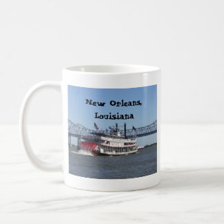 Riverboat in New Orleans Classic White Coffee Mug