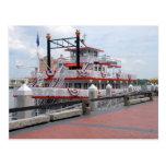 Riverboat Savannah Georgia Post Card