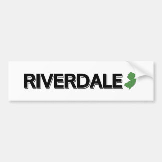 Riverdale, New Jersey Bumper Sticker
