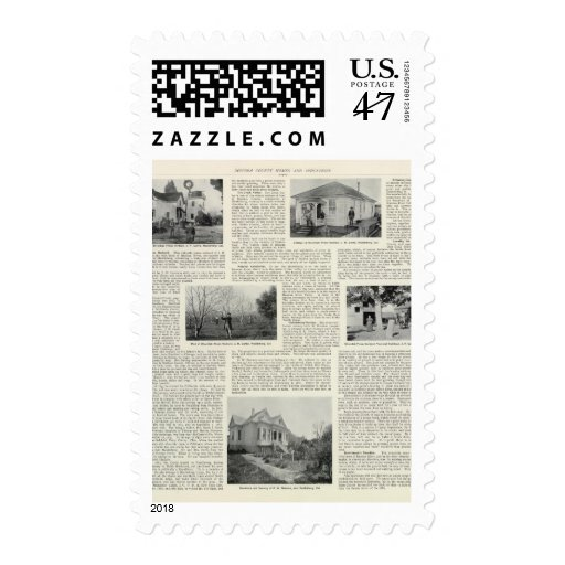 Riverdale Prune Orchard, California Postage Stamp