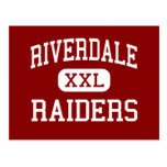 Riverdale - Raiders - High - Fort Myers Florida Postcard