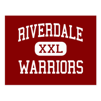 Riverdale - Warriors - High - Murfreesboro Postcard