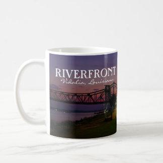 RIVERFRONT - Vidalia, Louisiana white coffee mug