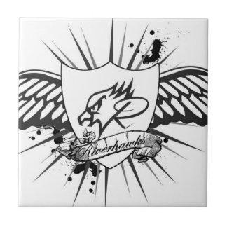 "Riverhawks ""Tribal Shield"" Tile"