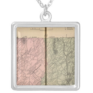 Riverheads, Augusta County Silver Plated Necklace