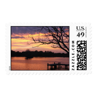 Riverhills Sunset Postage