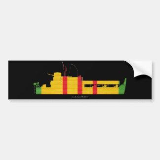Riverine Inf. ATC  on VSM Ribbon Bumper Sticker