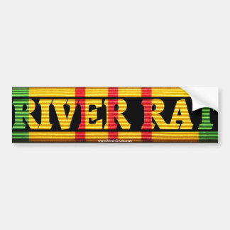 Riverine Inf. River Rat VSM Bumper Stickers