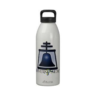 RiverPride - orilla CA Botella De Agua