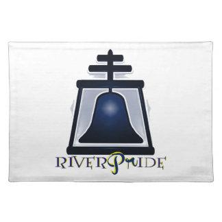 RiverPride - orilla, CA Manteles Individuales