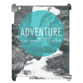 Rivers | Adventure Is Out There Quote Cover For The iPad 2 3 4