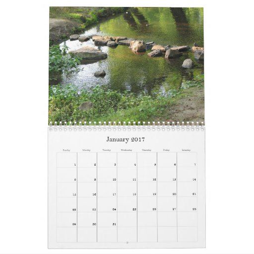 Rivers and Streams 2011 Calendar