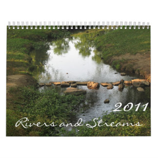 Rivers and Streams 2011 Calendar