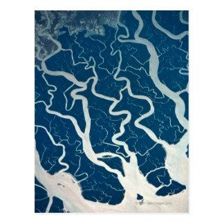 Rivers and Tributaries Postcard