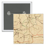 Rivers and Valleys of Germany 2 Inch Square Button