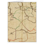 Rivers and Valleys of Germany Greeting Card