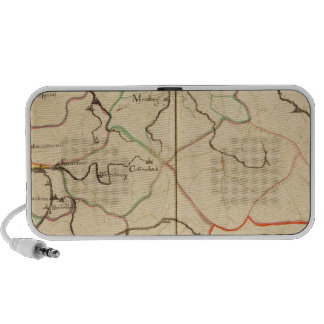 Rivers and Valleys of Germany Mini Speaker