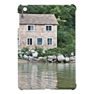 Rivers Edge home in the trees Case For The iPad Mini