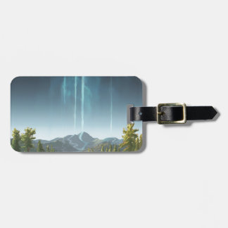 Rivers Flowing To The Sky Luggage Tag